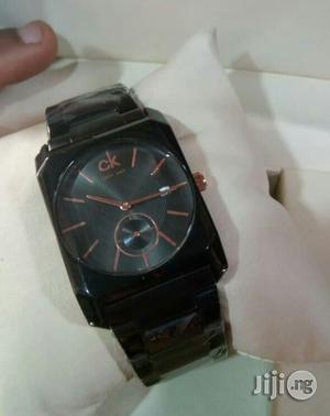 Calvin Klein(CK) Black Chain Watch for Unisex   Watches for sale in Lagos State, Lagos Island (Eko)