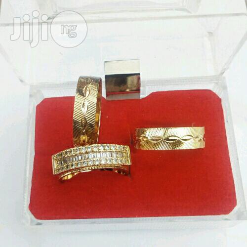 Brunswick Gold Wedding Ring Set