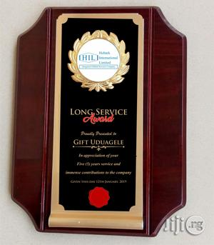 Award Plaque   Arts & Crafts for sale in Lagos State, Shomolu