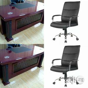 Executive Office Table Together With Executive Chair | Furniture for sale in Lagos State, Isolo