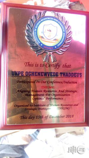 Wooden Plaque Award | Arts & Crafts for sale in Lagos State, Apapa