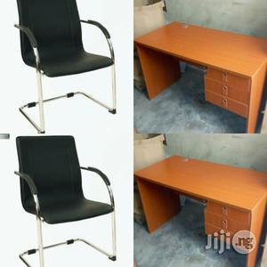 Office Chair and Office Table Together | Furniture for sale in Lagos State, Isolo