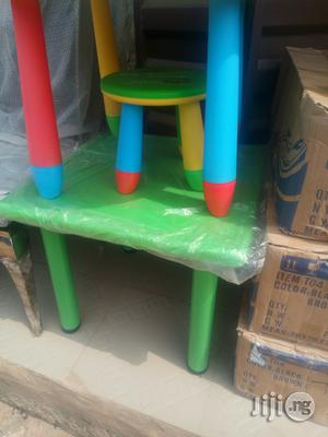 Colourful Plastic Table And Chairs For Children Imported   Children's Furniture for sale in Lagos State