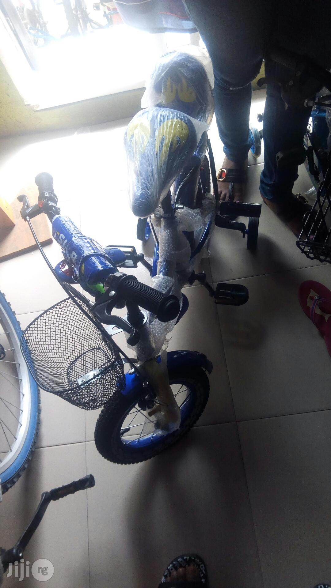 Children Bicycle Size 12 With Carrier and Basket   Toys for sale in Lekki, Lagos State, Nigeria