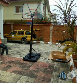Good Quality Fiber Glass Basketball Stand Or Up Right   Sports Equipment for sale in Lagos State, Ajah