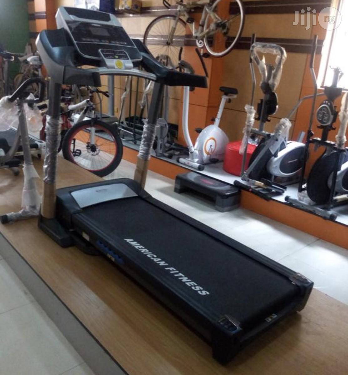 3hp Treadmill (American Fitness)