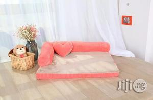 Double-cushion Dog Bed Breathable Cotton Dog House | Pet's Accessories for sale in Lagos State, Ifako-Ijaiye