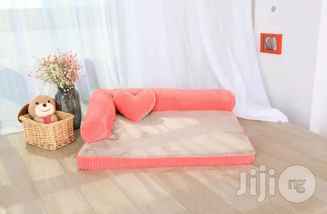 Double-cushion Dog Bed Breathable Cotton Dog House