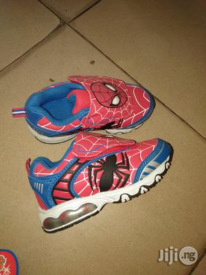 Red Spider-Man Sneakers | Children's Shoes for sale in Lagos State, Lagos Island (Eko)