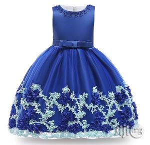 Baby Girl Beautiful Flowery Dress   Children's Clothing for sale in Lagos State, Surulere