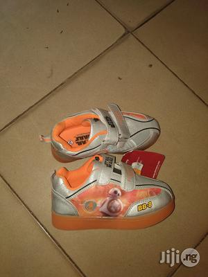 Orange and Ash Star Wars Canvas Sneakers for Boys | Children's Shoes for sale in Lagos State, Lagos Island (Eko)