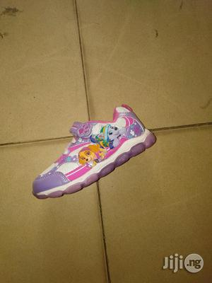 Purple and Pink Paw Patrol Canvas Sneakers for Girls | Children's Shoes for sale in Lagos State, Lagos Island (Eko)