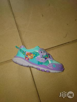 Blue Paw Patrol Canvas Sneakers for Girls | Children's Shoes for sale in Lagos State, Lagos Island (Eko)