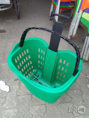 Superb Plastic Super Market Trolley Brand New | Store Equipment for sale in Lagos State, Ikoyi