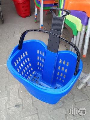 Unique Plastic Super Market Trolley Brand New | Store Equipment for sale in Lagos State