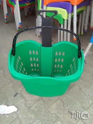 Exotic Plastic Super Market Trolley Brand New | Store Equipment for sale in Lagos State