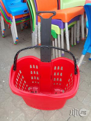 High Quality Plastic Super Market Trolley Brand New | Store Equipment for sale in Lagos State
