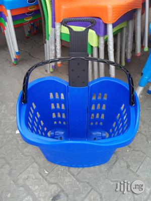 Superb Plastic Super Market Trolley Brand New | Store Equipment for sale in Lagos State