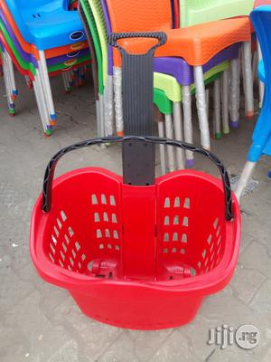 Superb Plastic Super Market Trolley Brand New Imported | Store Equipment for sale in Lagos State