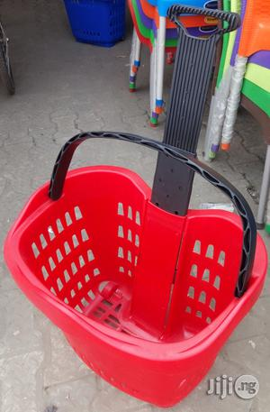Superb Plastic Super Market Trolley Brand New | Store Equipment for sale in Lagos State, Agege