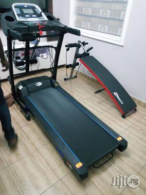 Body Fit 3hp Treadmill With Massager and Incline   Sports Equipment for sale in Lagos State, Surulere