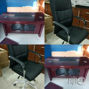 Office Table And Executive Chair Together | Furniture for sale in Lagos State, Isolo