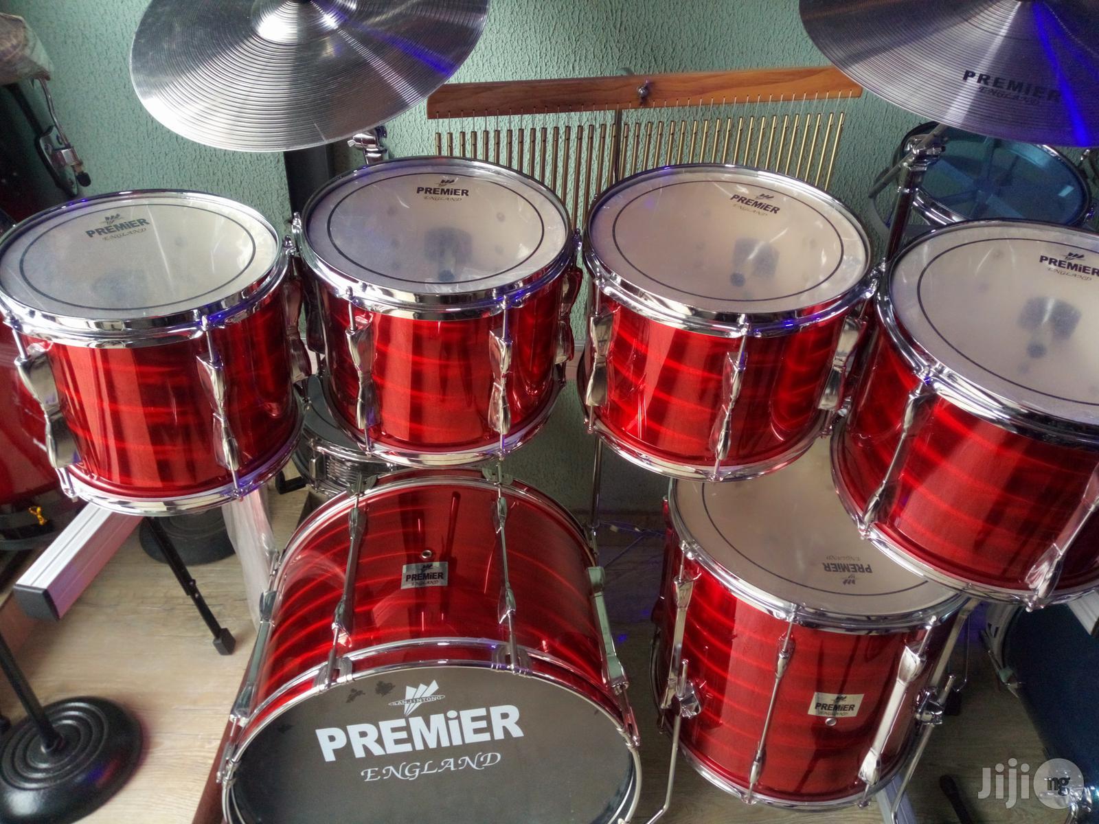 Premier Drum Set (7pieces) With Rack