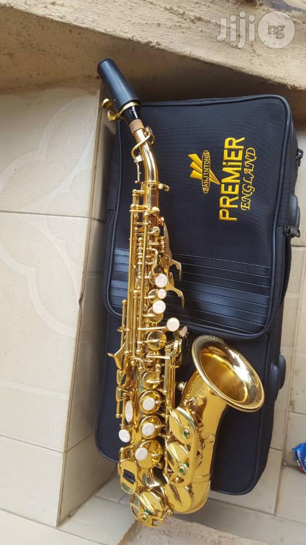 Soprano Saxophone (Gold)
