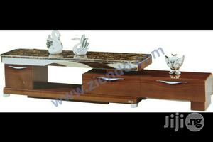 Wooden/Glass Tv Stand | Furniture for sale in Abuja (FCT) State, Wuse