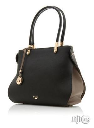 Dolivia Black Large Inverted Gusset Shoulder Bag   Bags for sale in Lagos State, Lekki