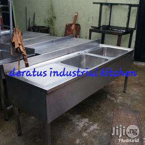 Industrial Sink With Bench | Restaurant & Catering Equipment for sale in Lagos State, Ojo