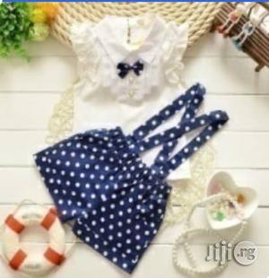 Girls Unique Short Dungarees and Top   Children's Clothing for sale in Lagos State, Surulere