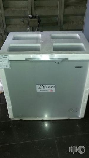 Scanfrost 350 Litre Freezer With 2years Warranty and Safe Delivery | Kitchen Appliances for sale in Lagos State, Ojo