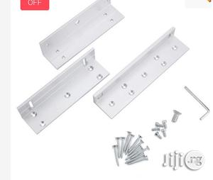 Z & L Bracket Stand For 180KG Magnetic Lock   Doors for sale in Lagos State, Ikeja