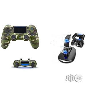 Sony PS4 Pad - Dualshock 4 Wireless Controller - Camo | Accessories & Supplies for Electronics for sale in Lagos State, Ikeja