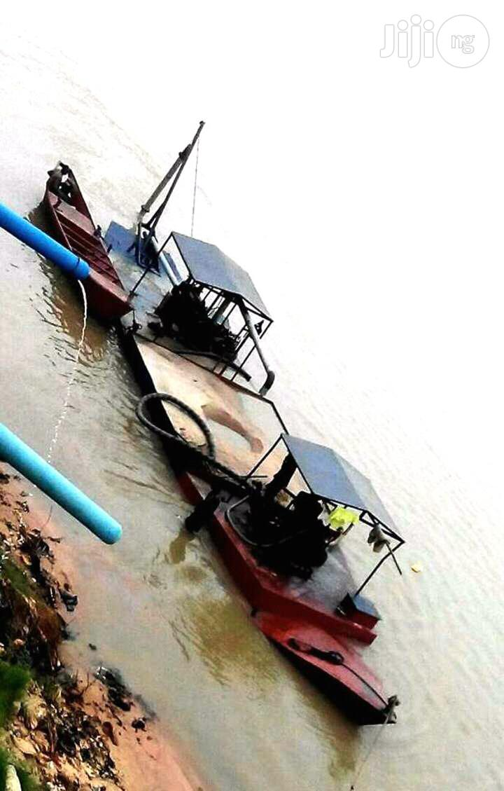 Mobile Dredgin Mechine   Watercraft & Boats for sale in Oshimili South, Delta State, Nigeria