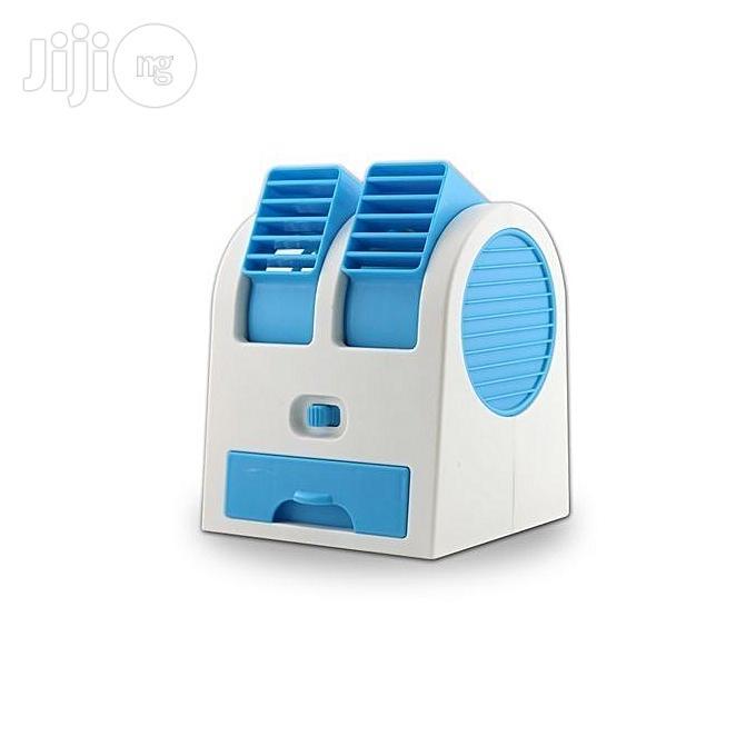 Generic Mini Fan Mini Fragrance USB Air Conditioning Fan - MULTI