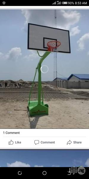 Brand New Standard Commercial Basketball Stand Is Available | Sports Equipment for sale in Lagos State, Surulere