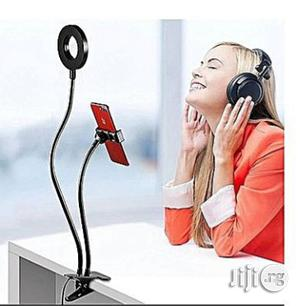 Selfie Ring Light Cell Phone Holder Selfie Light For Smartphones | Vehicle Parts & Accessories for sale in Lagos State, Mushin