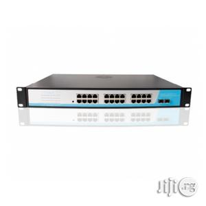 Netpro 24port Poe Switch Gigabit + 2sfp   Networking Products for sale in Lagos State, Ikeja