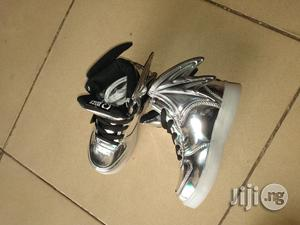 Wize Little High Top Canvas Sneakers for Kids   Children's Shoes for sale in Lagos State, Lagos Island (Eko)