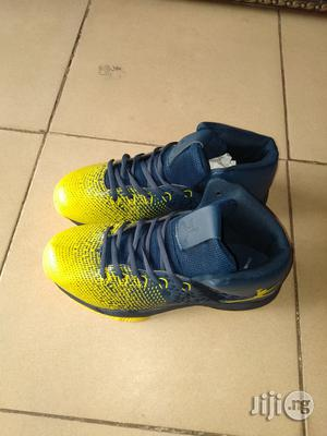 Blue and Yellow Sneakers Canvas for Men   Shoes for sale in Lagos State, Lagos Island (Eko)