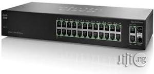 Cisco Sf112-24-Uk 24-Port 10/100 Switch With Gigabit Uplinks | Networking Products for sale in Lagos State, Ikeja