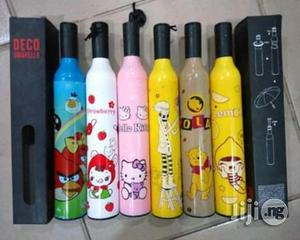 Bottle Shaped / Rose Umbrella   Clothing Accessories for sale in Lagos State, Ibeju