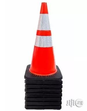 """28"""" Safety Traffic Pvc Cones With Two Reflective Collars - Set Of 5   Safetywear & Equipment for sale in Lagos State, Lagos Island (Eko)"""
