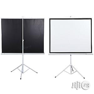72/72 Tripod Projection Screen | Accessories & Supplies for Electronics for sale in Lagos State, Ikeja