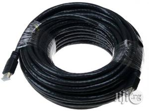 HDMI 10M Cable Black   Accessories & Supplies for Electronics for sale in Lagos State, Ikeja