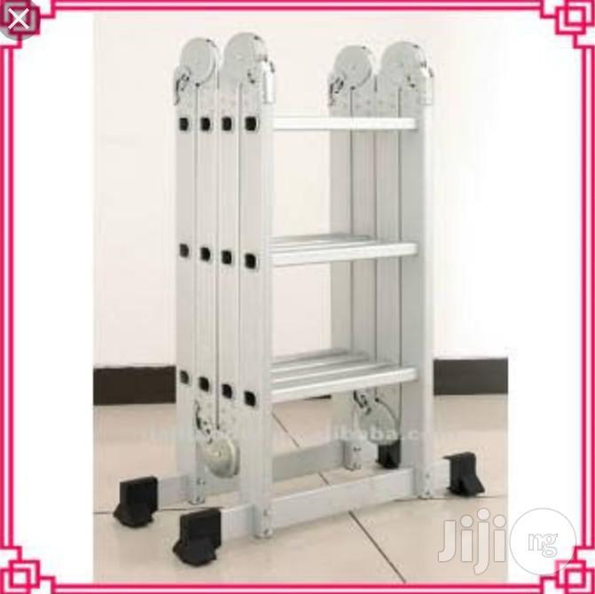 4x5 Aluminium Multipurpose Ladder | Hand Tools for sale in Ojo, Lagos State, Nigeria