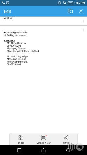 Computing & IT CV | Computing & IT CVs for sale in Delta State, Warri