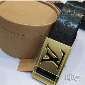 Louis Vuitton Leather Belt | Clothing Accessories for sale in Lagos State, Lagos Island (Eko)